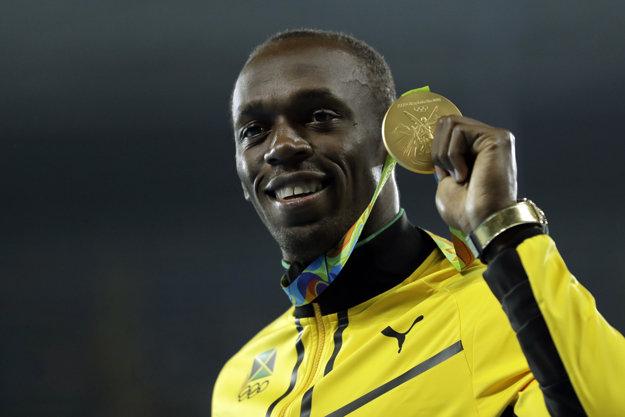 Usain Bolt sa zaradil medzi legendy