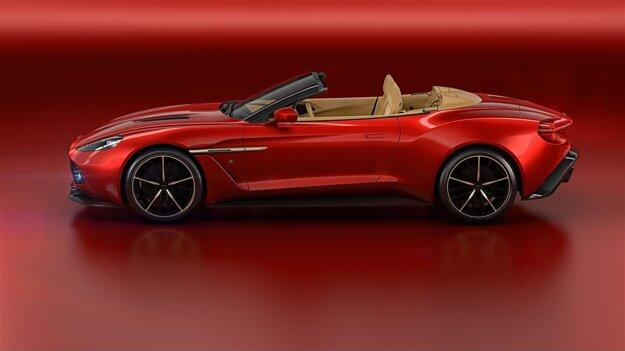 Aston Martin Vanquish Zagato Volante.