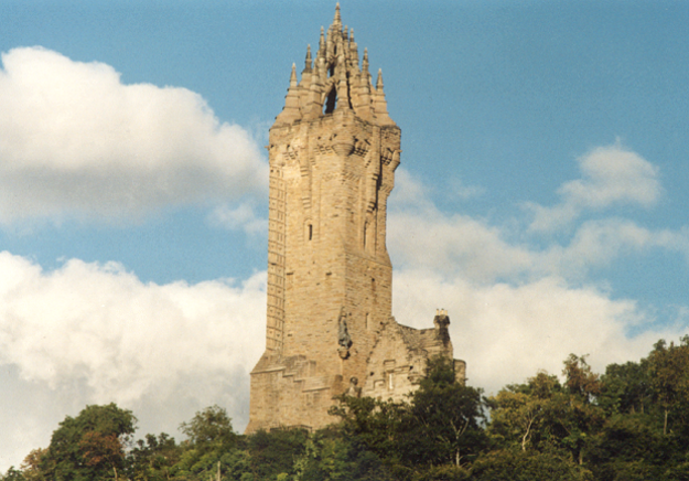Wallaceov pamätník v Stirlingu.