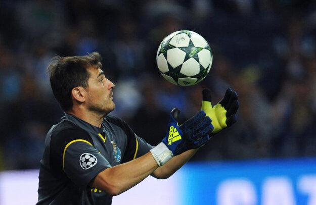 V skupinovej fáze Ligy majstrov sa predstaví aj legendárny Iker Casillas, v súčasnosti brankár FC Porto.