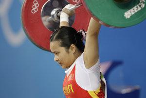 Čchen Sie-sia vyhrala v Pekingu kategóriu do 90 kg. Medailu bude musieť vrátiť.