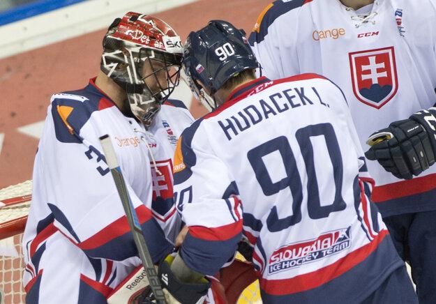 Libor a Július Hudáčkovci sa okrem klubu stretávajú aj v reprezentácii.