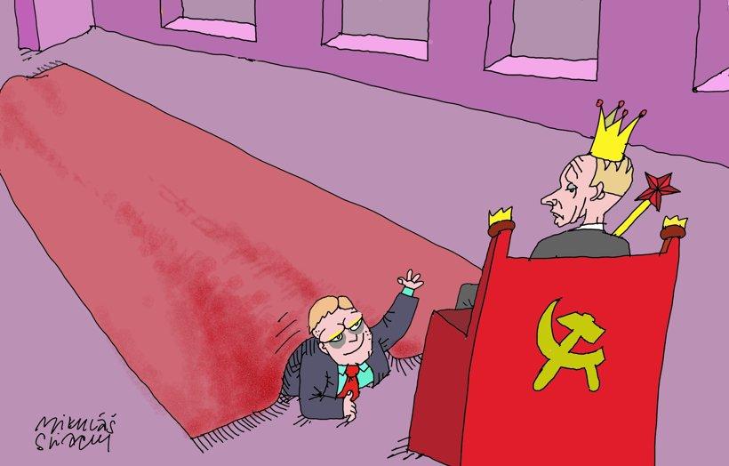 Stretnutie s Putinom (kreslí Sliacky) 24. august