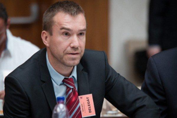 Žigmund Pálffy počas zasadnutia rady SZĽH.