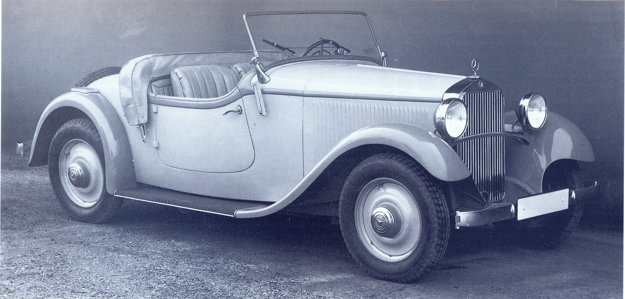 Najkrajšou, ale i najdrahšou karosériou bol sportroadster, ktorý v roku 1932 stál 5 500 RM.