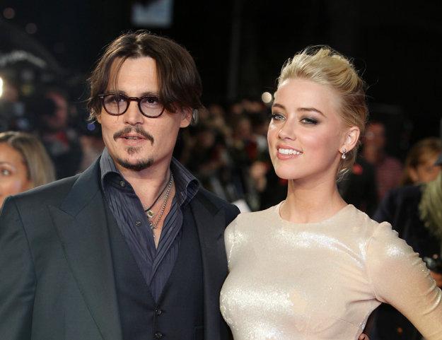 Amber Heardová a Johnny Depp na začiatku vzťahu