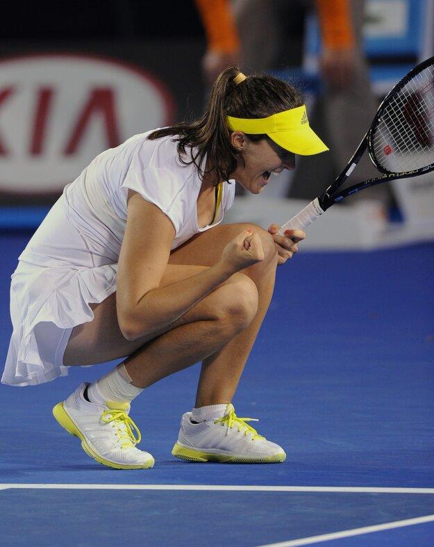 Laura Robsonová pred tromi rokmi dokázala na Australian Open poraziť aj Petru Kvitovú