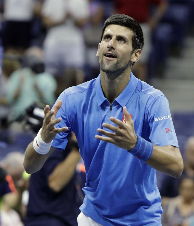Novak Djokovič mal zo svojho víťazstva radosť.