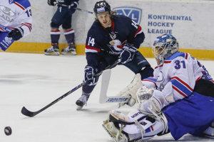 Pre reprezentačné povinnosti opustil Žiga Jeglič na pár dní káder Slovana Bratislava.
