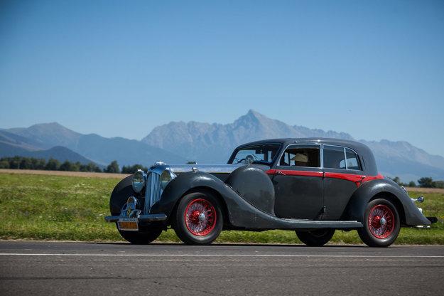 Lagonda V 12 SHORT SALOON z roku 1938