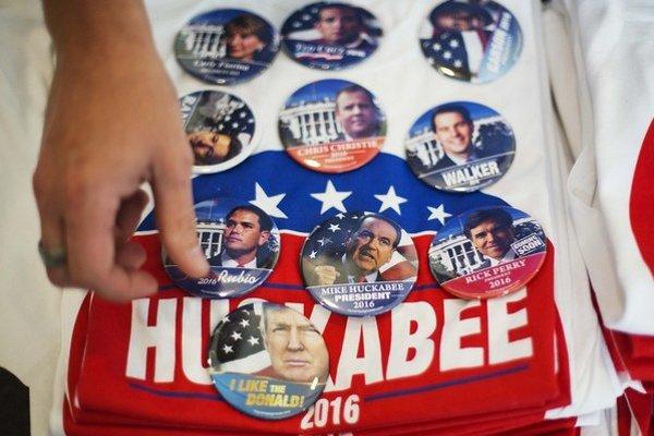 Voliči republikánov majú pred voľbami v roku 2016 veľký výber.
