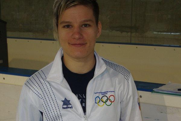 Ivana Komlóšiová pod Urpínom naplnila očakávania.