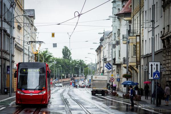 Električky od Škody, ktoré premávajú v Bratislave.