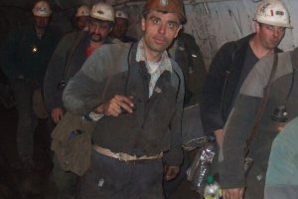 Hornonitrianski baníci vlani vyťažili viac ako 2 milióny ton uhlia.