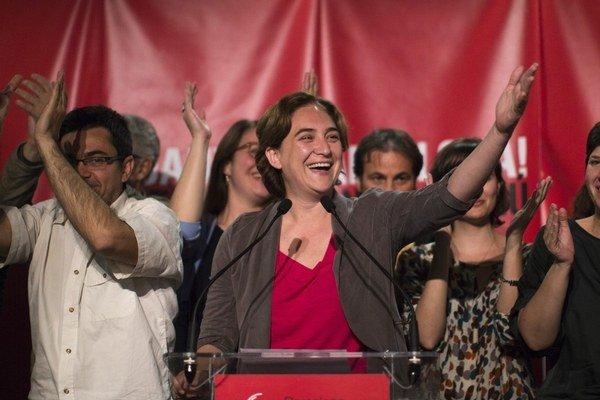 Barcelonskou starostkou sa stane aktivistka Ada Colauová.