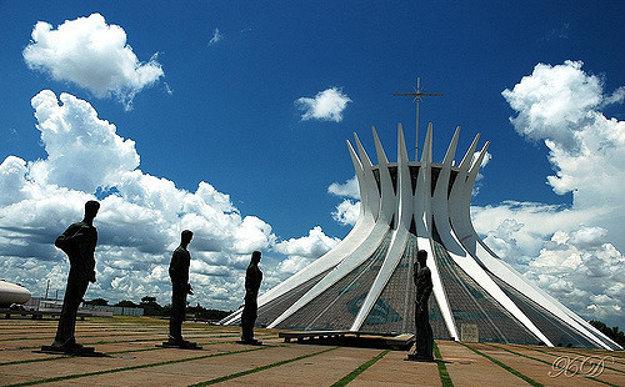 Katedrála v hlavnom meste Brazílie.