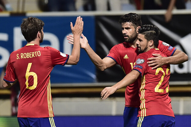 Španieli dali osem gólov Lichtenštajnsku.