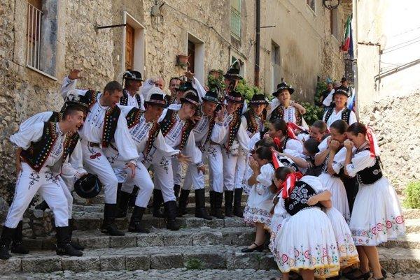 Chemlonári v Taliansku.