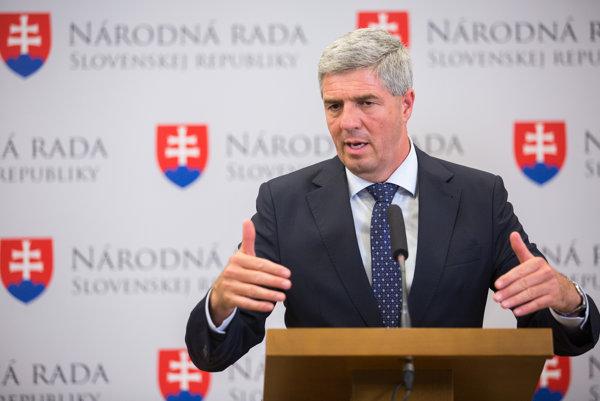 Podpredseda NR SR a šéf Mostu-Híd Béla Bugár.