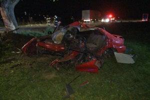 Nehoda pri Rožkovanich mala minulý týždeň tragický koniec.