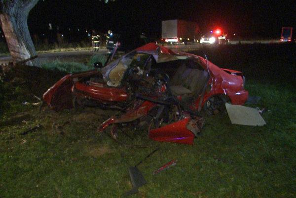 Nehoda pri Rožkovanich mala tragický koniec.