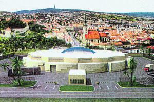 Vizualizácia továrne RKN Global v Banskej Bystrici, ktorá bola súčasťou zásielky anonymne doručenej redakcii denníka SME. Na vizualizácii je továreň s palmami zasadená do panorámy Bratislavy. Neskôr rovnakú vizualizáciu továrne ukázal novinárom aj Ronald K. Noble, bez paliem a Bratislavy.