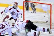 Hokejisti Rigy získali prvé body v novom ročníku KHL.