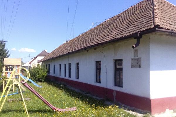 Stará škôlka v Babinej.