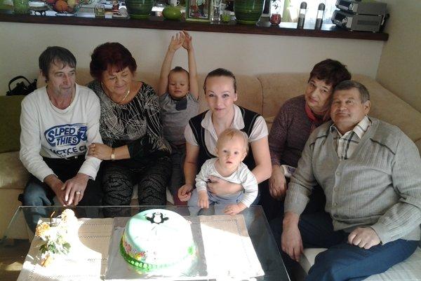 Oslava 1. narodenín.