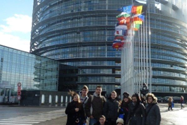 Žiaci mohli vidieť prácu europoslancov.