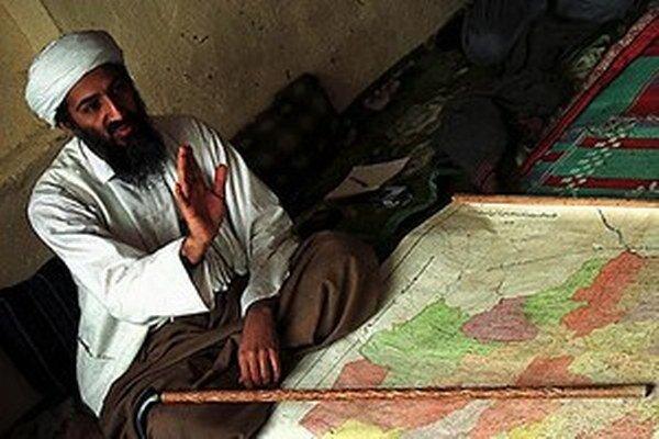 Snímka bin Ládina z roku 1998.