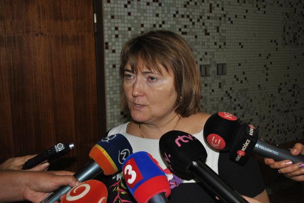 Iveta Rajtáková. Médiá informovala ako prvá.
