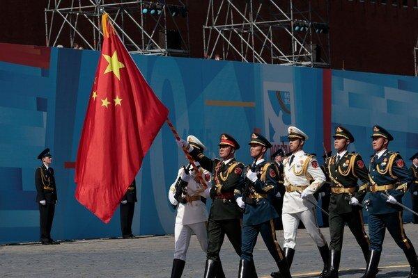 Číňania dostali priestor aj na Červenom námestí na oslavách 70. výročia porážky nacistov.