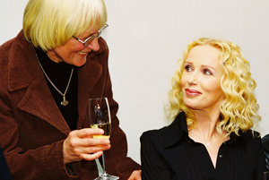 So spisovateľkou Altou Vášovou, spoluautorkou scenára filmového muzikálu Neberte nám princeznú.