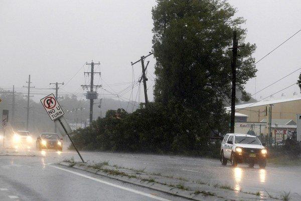 Prudké dažde sužujú východné pobrežie Austrálie.