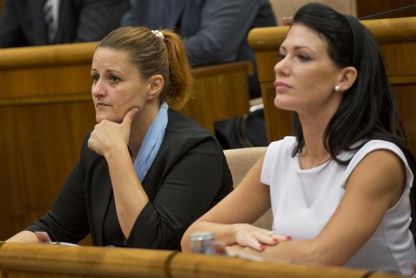 Na prípad upozornila poslankyňa Natália Blahová zo Sas (na snímke vľavo).