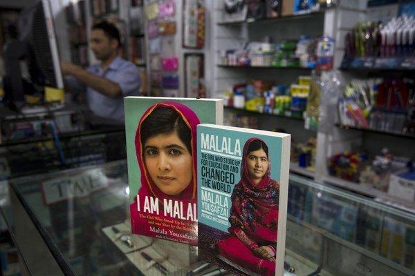 Malálina kniha sa stala bestsellerom aj v jej rodnom Pakistane.