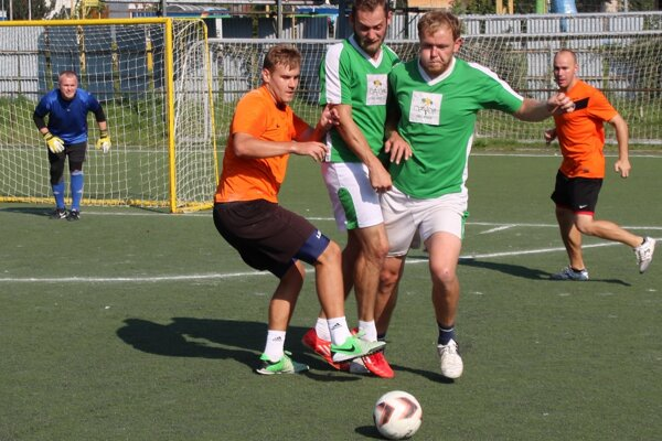 Zo zápasu Oranjes - Rytieri
