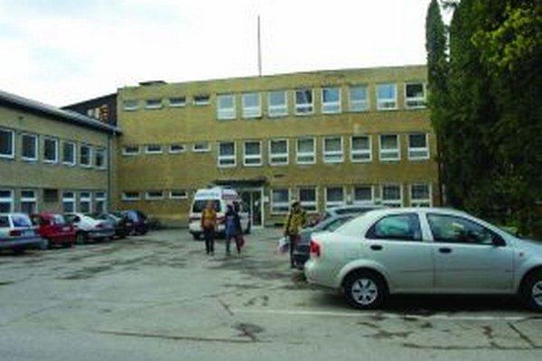 Nemocnica v Partizánskom.