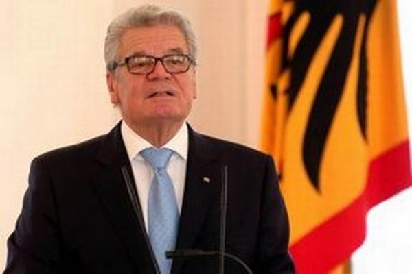Nemecký prezident Joachim Gauck.