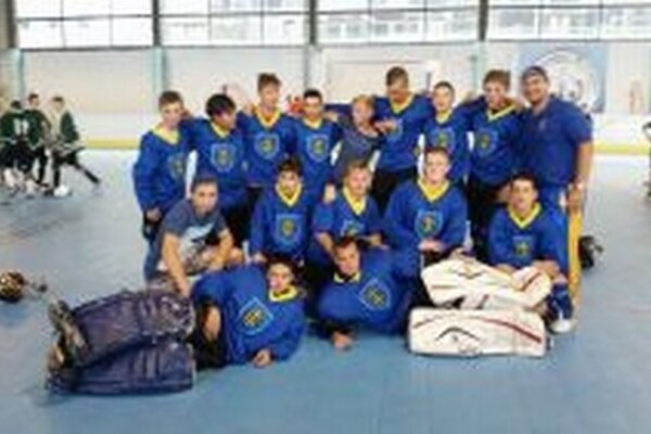 Hokejbalisti Topoľčian, kategória U16.