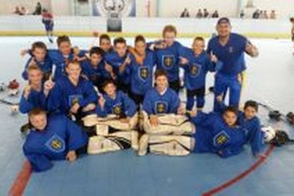 Topoľčany U14 na minuloročnom turnaji v Nitre.