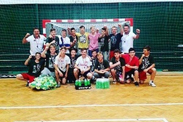 Starší žiaci v Prešove obsadili konečné tretie miesto.