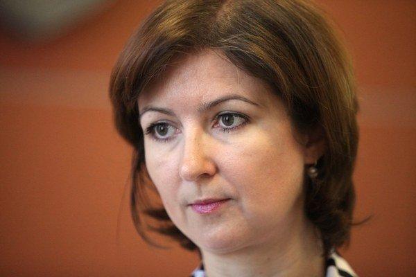 Zuzana Vatráľová z IOM.