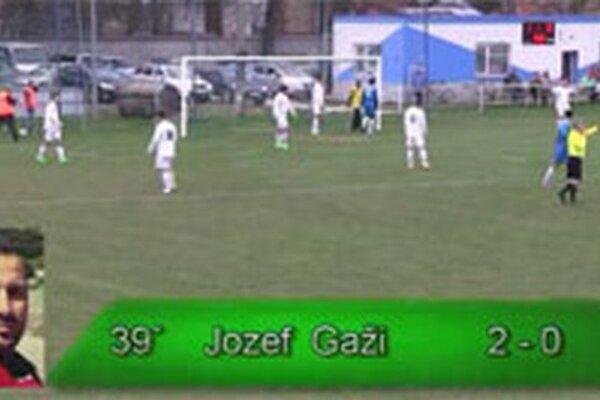 Jozef Gaži v zápase proti Kuzmiciam zaznamenal hetrik.