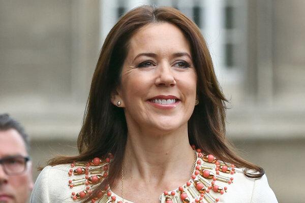Dánska korunná princezná Mary.