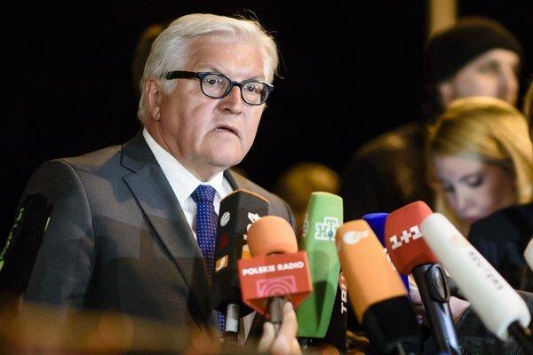 Nemecký minister zahraničia Frank-Walter Steinmeier.