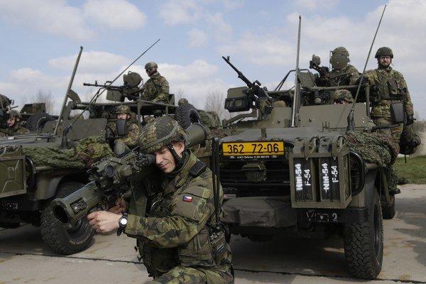 Na cvičení Síl veľmi rýchlej reakcie sa zúčastnilo vyše 1500 vojakov.