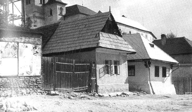 Mariánska ulica v roku 1930.