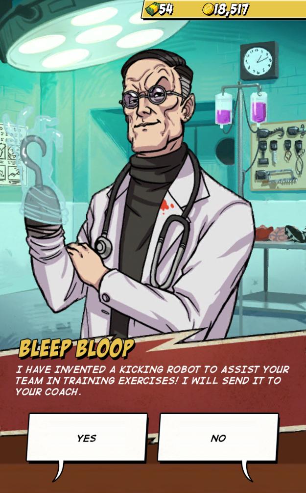 Nápady šialeného lekára môžu prekvapiť.